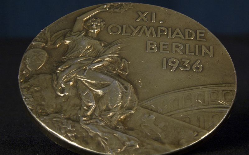 Medali emas di Olimpiade Berlin 1936 (Foto: Olympic.org)