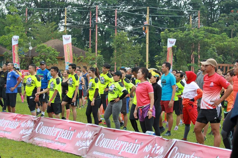 Menaklukkan Tantangan Mud Warrior 2017, The Biggest Obstacle Race di Jakarta