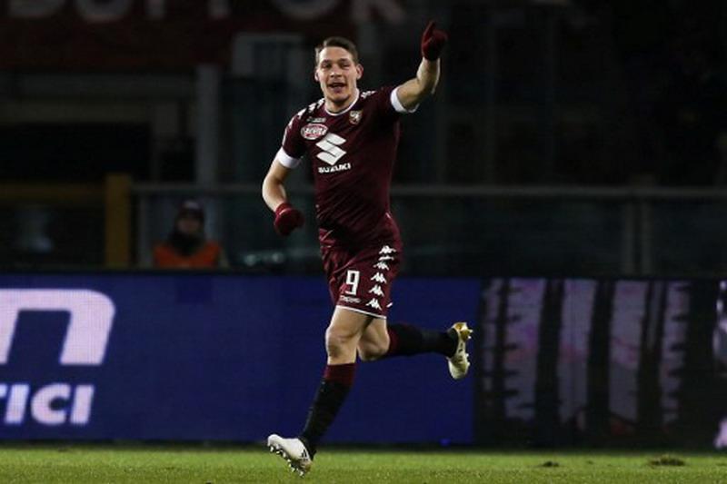 Belotti tajam bersama Torino. (Foto: AFP/Marco Bertorello)