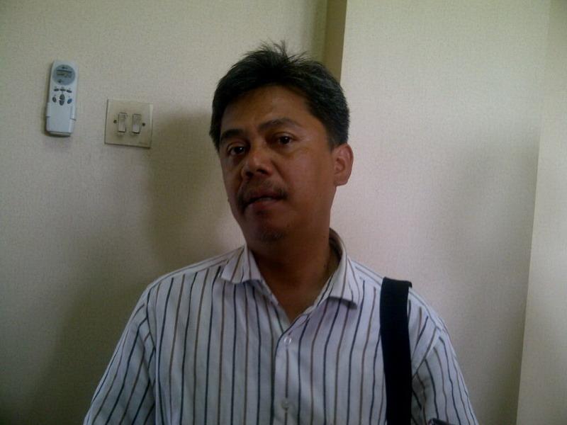 Laga Sudarmadji, Exco PSSI Jabar. (Foto: Oris/Okezone)