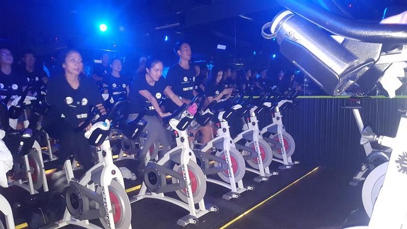 Capek Bersepeda di Event