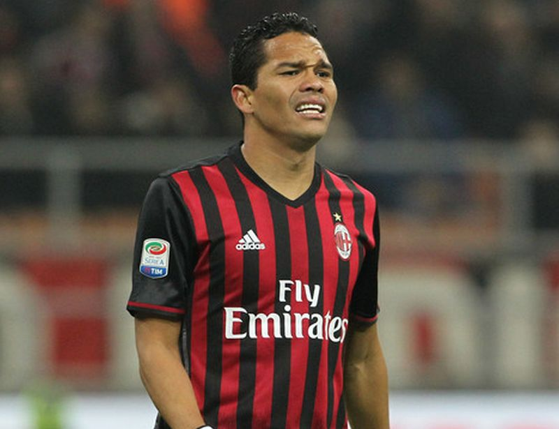 Pemain AC Milan, Carlos Bacca (Foto: Getty Images)