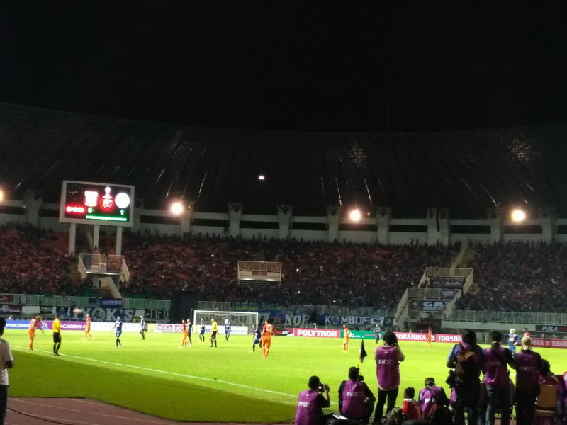 Arema FC juara Piala Presiden 2017. (Foto: Tatang/Okezone)