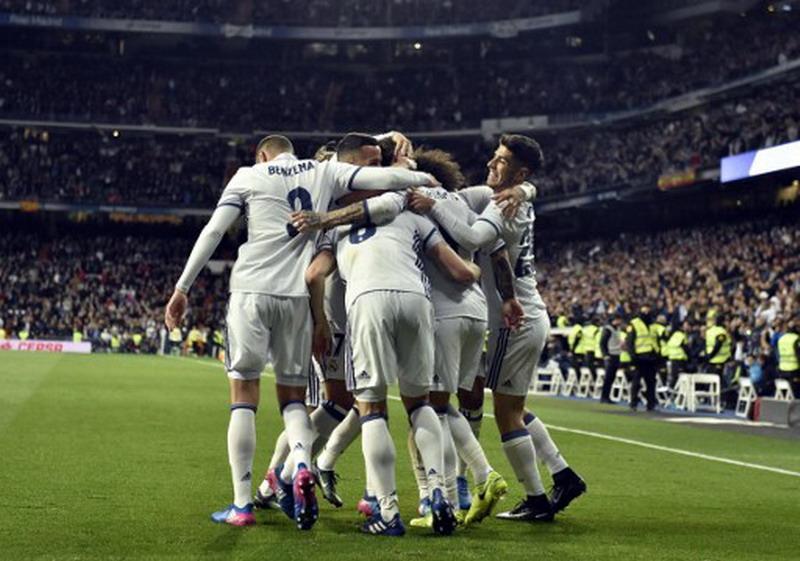 Madrid pimpin klasemen sementara Liga Spanyol. (Foto: AFP/Gerard Julien)
