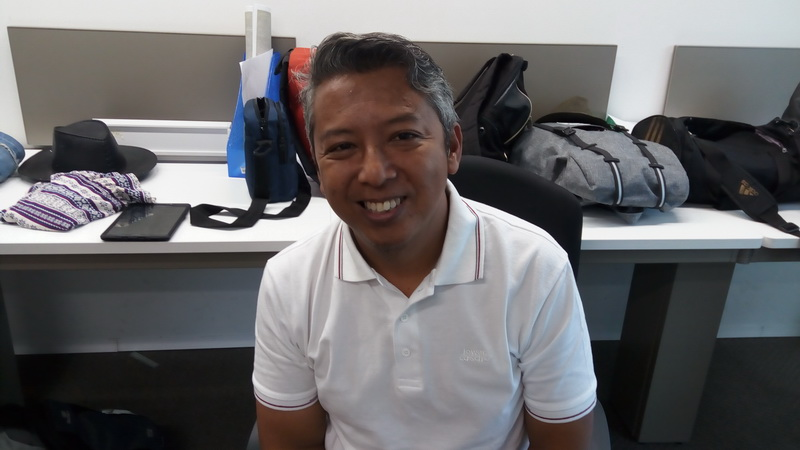 Kang Daan pemain sinetron Kampung Kendang (Foto: Sumarni/Okezone)