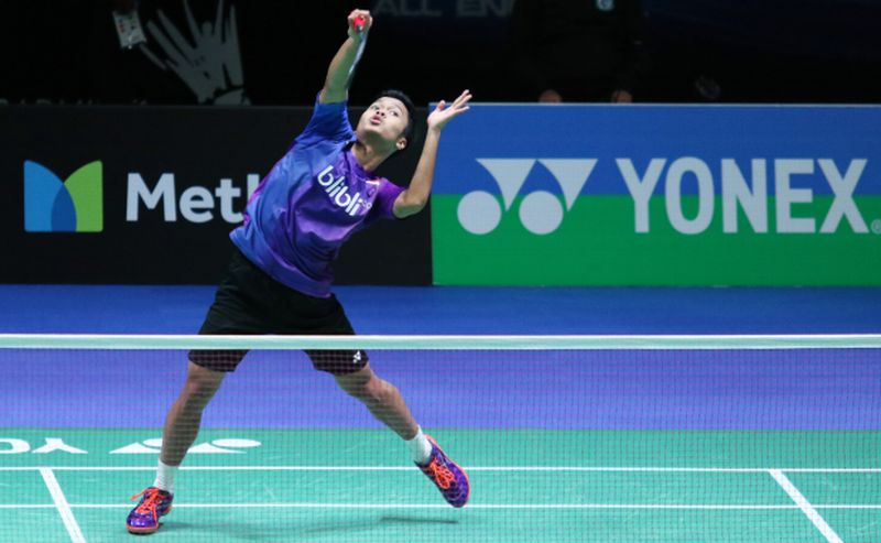 Tunggal putra Indonesia, Anthony Ginting (Foto: PBSI)