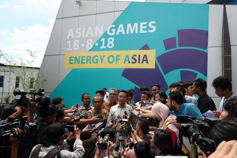 Menteri Pemuda Olahraga dalam konferensi pers (Foto: Kemenpora)