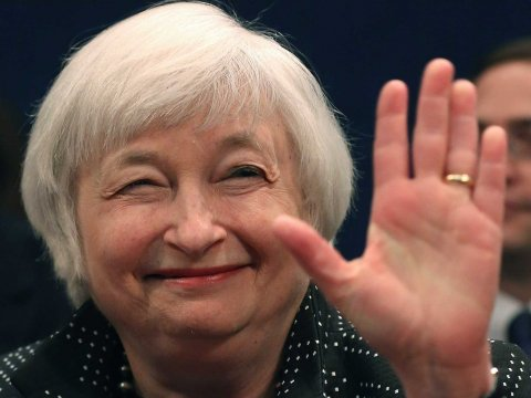 \Akhirnya, Janet Yellen Naikan The Fed Rate ke 0,75%-1%\