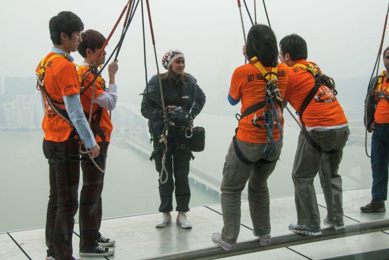 Suka Wisata Ekstrem, Yuk Cobain Bungee Jumping di Tower Macau