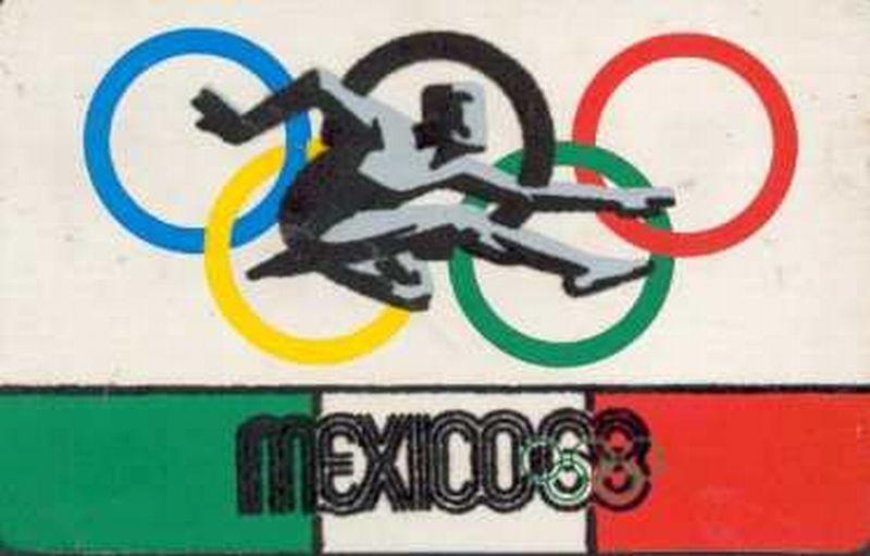 Lambang Olimpiade 1968 Mexico City (Foto: Olympic Museum)