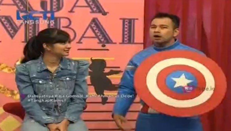 Raffi Ahmad dan Mikha Tambayong (Foto: MNC Media)