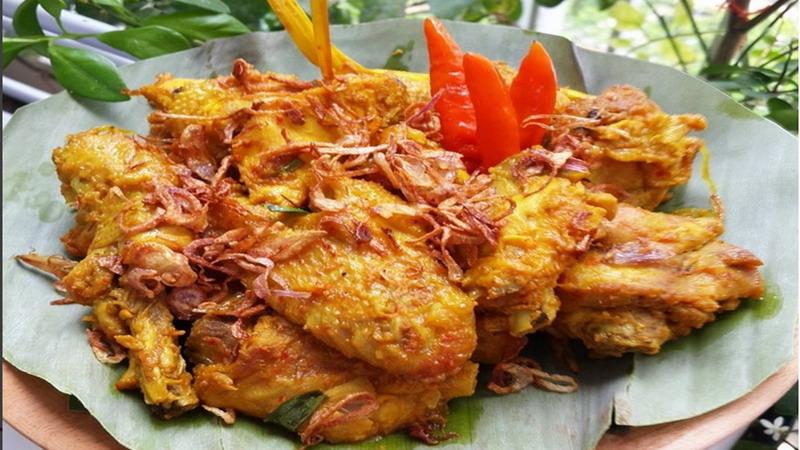 RESEP NENEK: Enaknya Makan dengan Ayam Ungkep Kering Asam