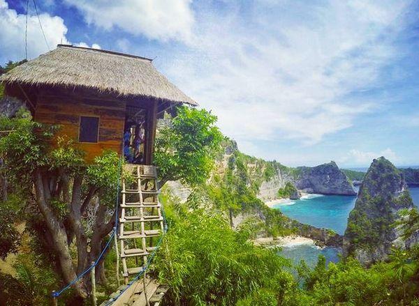 Rumah Pohon di Nusa Penida Jadi Spot Terindah Nikmati Sajian