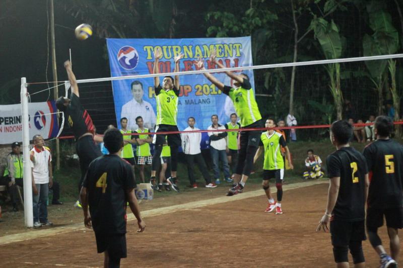 Pertandingan Galaxi melawan Jatim Park di HT Cup (Foto: Hari Istiawan/Okezone)