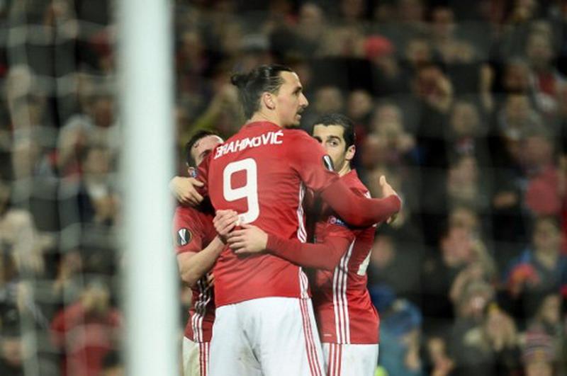 Manchester United vs Rostov (Foto: AFP)