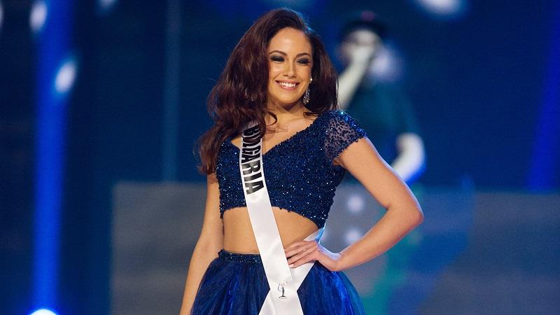 Beruntung! Gadis Asal Filipina Diberi Gaun Cantik dari Miss Bulgaria