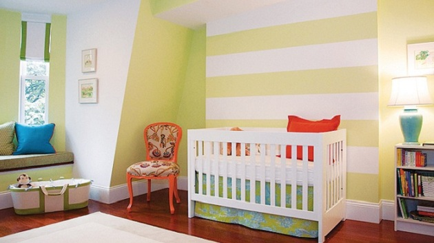 Pilih-Pilih Warna Kamar Bayi, Ternyata Warna Kuning Bikin Bayi Gelisah