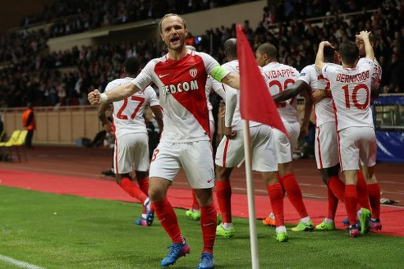 Valere Germain, pemain AS Monaco (Foto: Valery Hache / AFP)