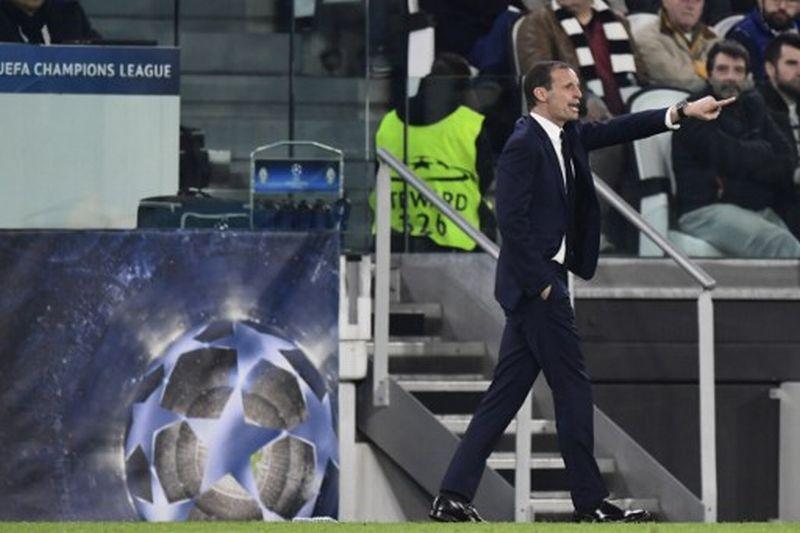 Massimiliano ALlegri, pelatih Juventus (Foto: Miguel Medina / AFP)