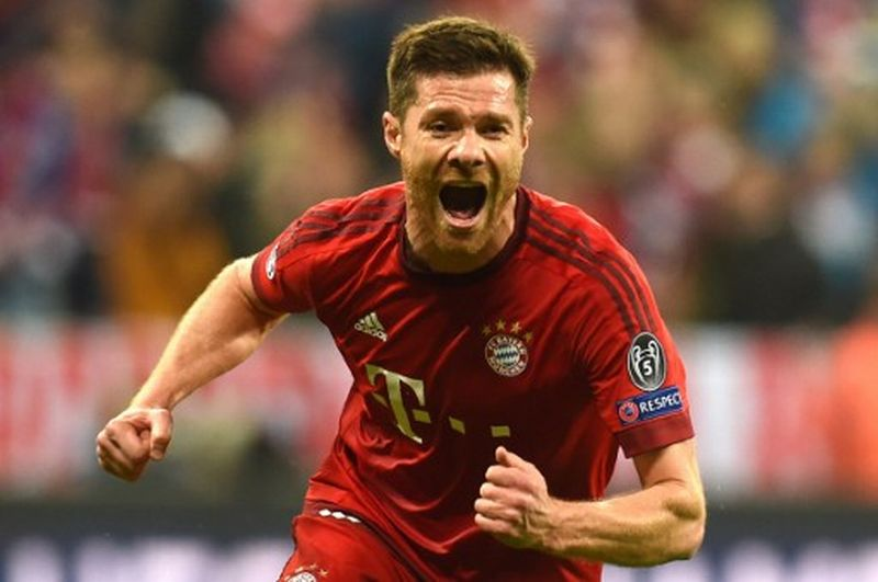 Xabi Alonso. gelandang Bayern Munich (Foto: Christof Stache / AFP)
