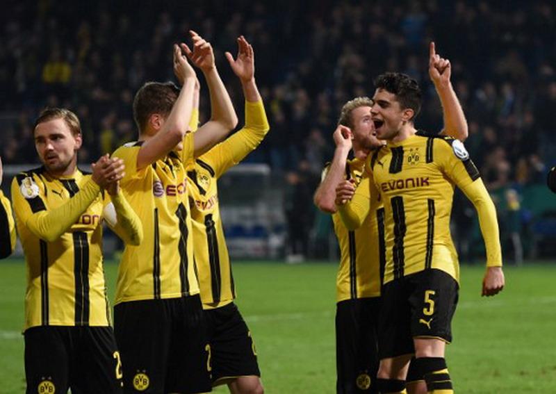 Skuad Borussia Dortmund (Foto: AFP)