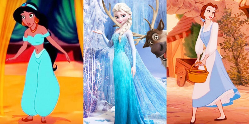 Ternyata Ini Toh Alasan Karakter Princess Disney Selalu Kenakan Gaun Biru