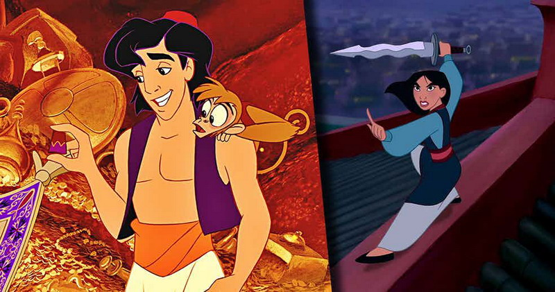 Mulan dan Aladdin bakal diadaptasi ke live action (Foto: CBR)