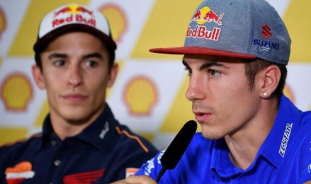 Marc Marquez dan Maverick Vinales (Foto: AFP)