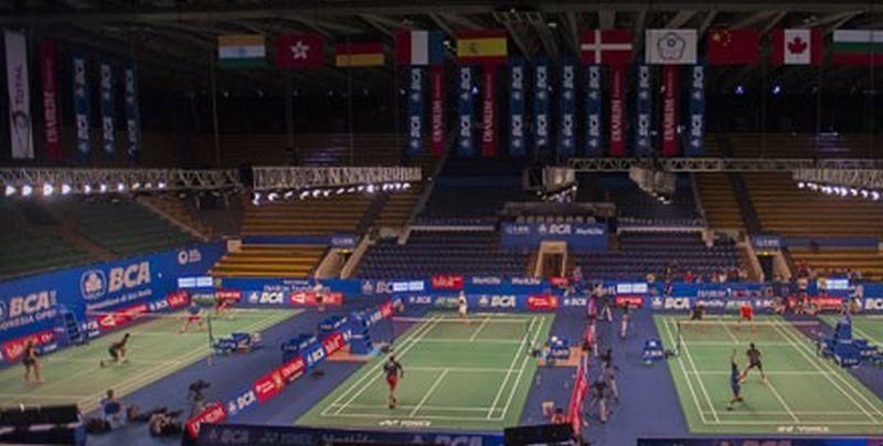 Turnamen Bulu Tangkis Indonesia Open (Foto: Antara)