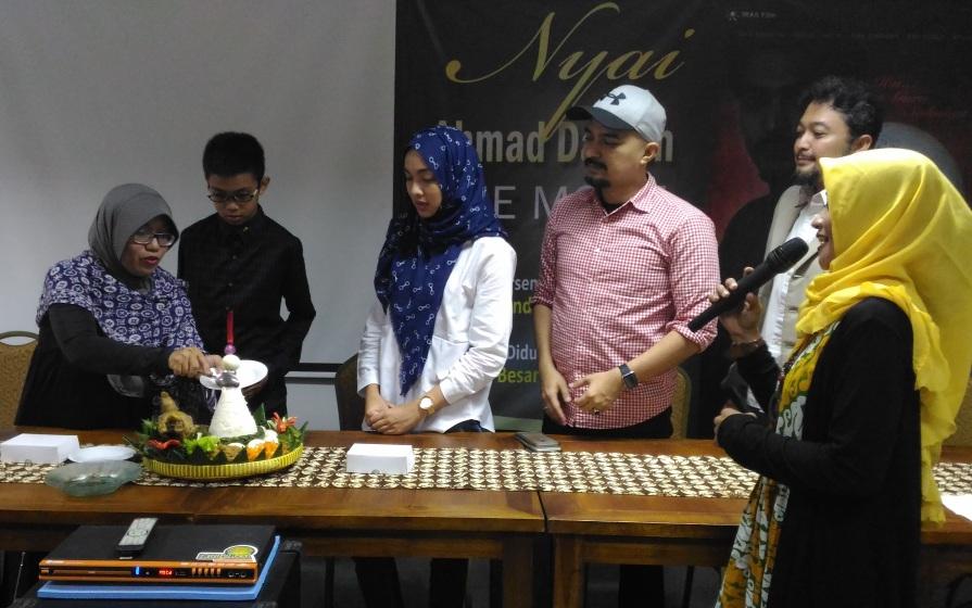 Tasyakuran mengawali syuting film Nyai Ahmad Dahlan the Movie