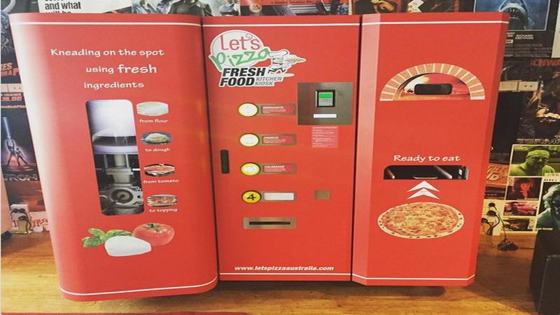 Mulai Caviar hingga Pizza, 3 Makanan Lezat yang Dijual di Mesin Penjual Otomatis