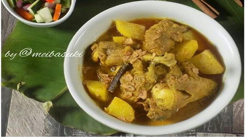 RESEP NENEK: Untuk Makan Malam Spesial Masak Kari Ayam Kampung Berempah Yuk