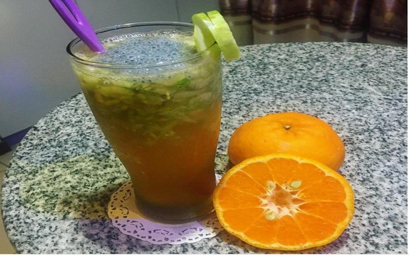 RESEP PILIHAN: Cegah Dehidrasi saat Equinox, Minum Es Mentimun Jeruk Mandarin