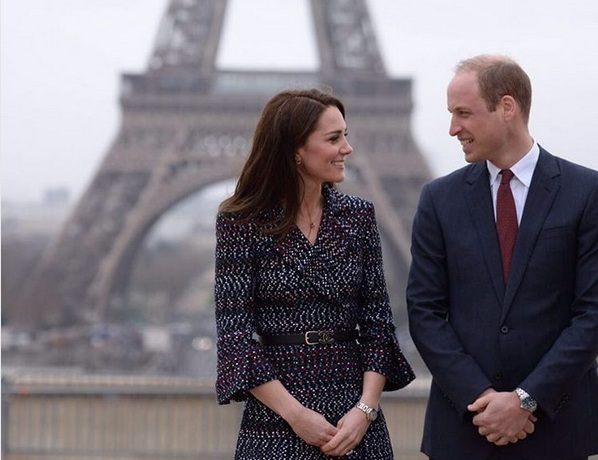 Pangeran William dan Kate Middleton. (Foto: Instagram)