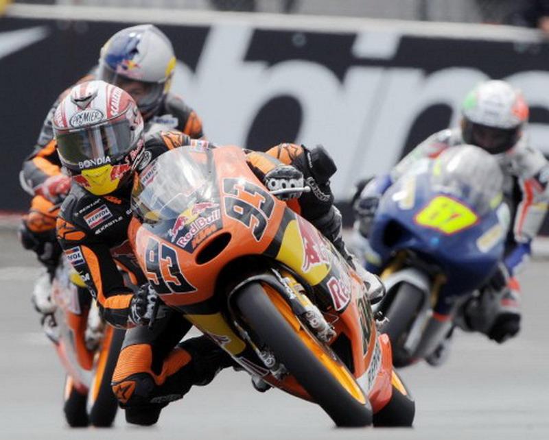 Marc Marquez saat bersama KTM di Moto3 (Foto: AFP)