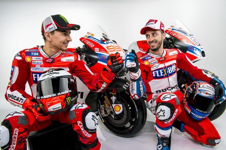 Andrea Dovizioso dan Jorge Lorenzo (Foto: Speedweek)