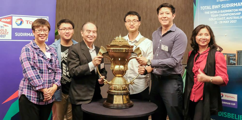 Pemerintah Australia yang akan mempersiapkan Piala Sudirman 2017 (Foto: AFP)