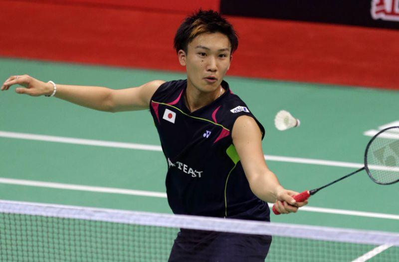Tunggal putra Jepang, Kento Momota (Foto: BWF World Superseries)