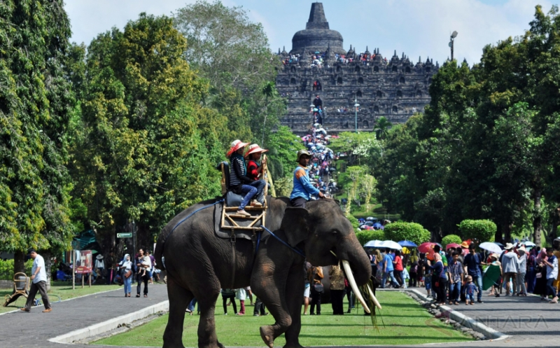 Target 2 Juta Wisman di 2019, Wisata Borobudur Perlu Dukungan Kuat Wilayah Sekitarnya