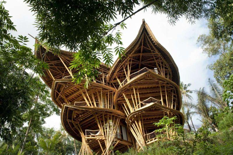 Hotel di Bali Ini Jadi Penginapan Paling Tak Biasa di Asia