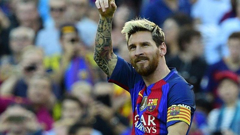 Pemain Barcelona, Lionel Messi (Foto: Eurosport)