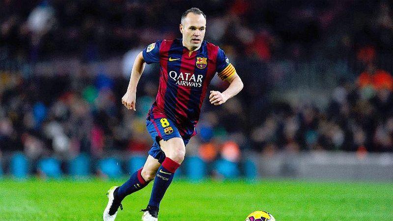 Pemain Barcelona, Andres Iniesta (Foto: ESPN)