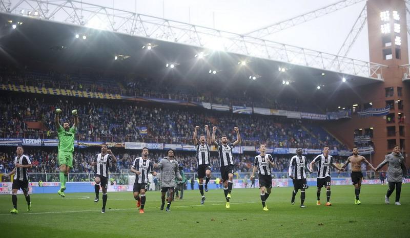 Juventus masih kukuh di puncak klasemen Liga Italia. (Foto: REUTERS/Giorgio Perottino)