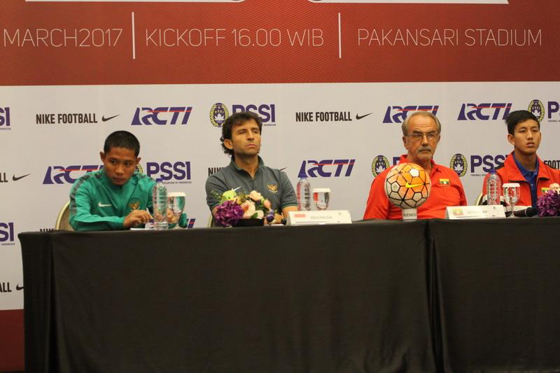 Indonesia siap hadapi Myanmar. (Foto: Laman resmi PSSI)