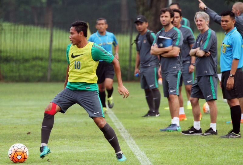 Pemain Timnas Indonesia U-22, Evan Dimas (Foto: Laman resmi PSSI)