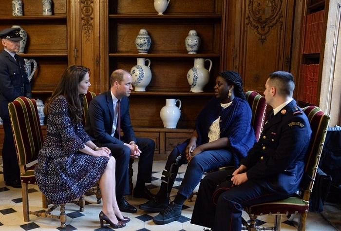Pangeran William dan Kate Middleton. (Foto: Twitter)