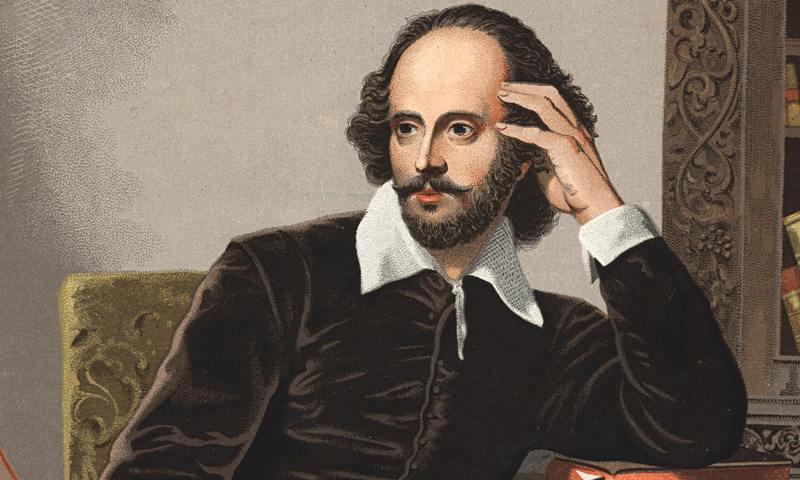 Lukisan William Shakespeare (Foto: Ahloo)