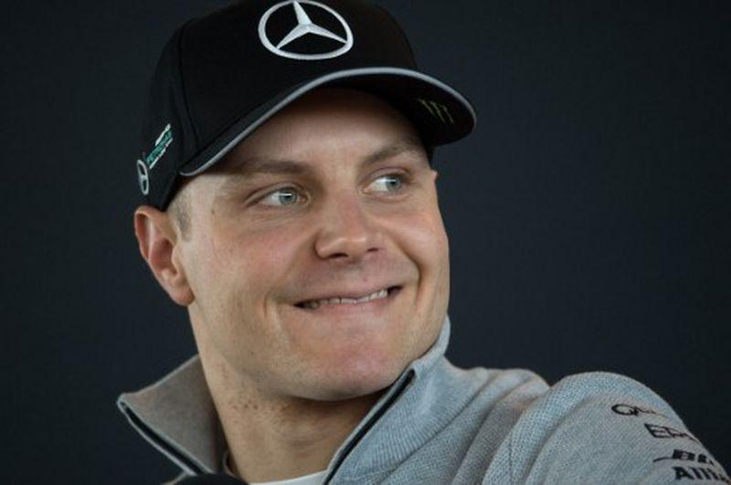 Pembalap anyar Tim Mercedes, Valtteri Bottas (Foto: Oli Scarff / AFP)