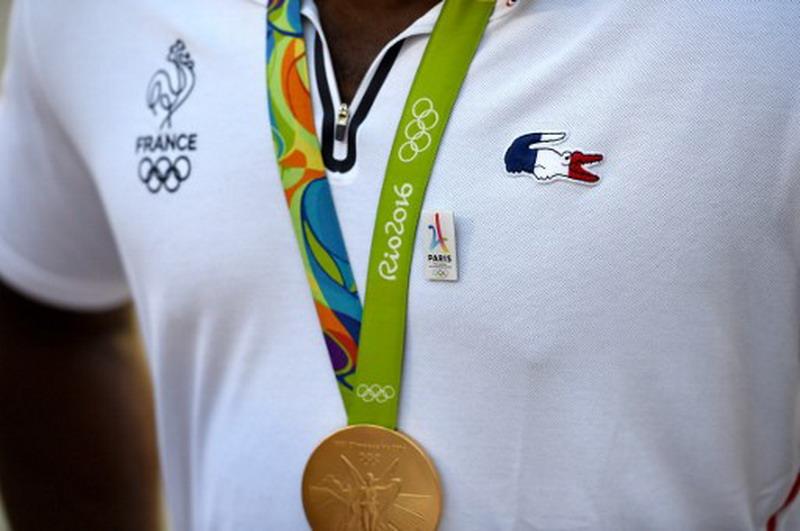 Medali emas Olimpiade Rio 2016. (foto:AFP)