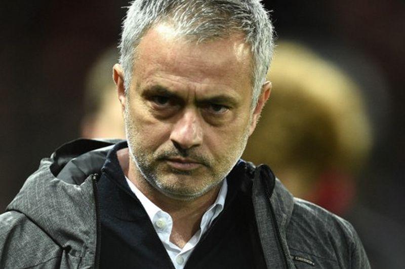 Pelatih Manchester United, Jose Mourinho (Foto: Oli Scarff / AFP)